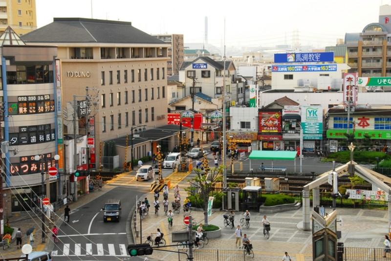 松原駅前商店街 2013年8月