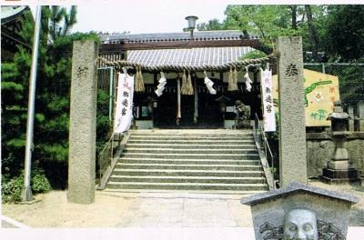 大阪府松原市上田 柴籬神社